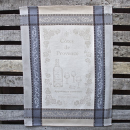 Vignoble  Lin Jacquard Tea Towel Made in France