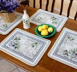 Riviera Jacquard Tapestry Style Placemat Made in France