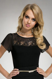Iwa Black Top PLUS SIZE Made in Poland