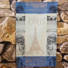 Paris - Kitchen Tea Towel Parisienne Blue