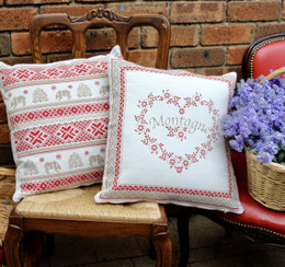 Davos-French Jacquard Cushion Cover Made in France