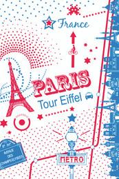 Paris Tour EiffelTea Towel Made in France