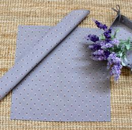 Marat Avignon Grey Serviette Napkin Made in France