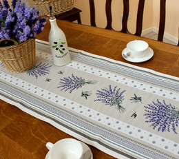 Castillon Grey 49x162cm French Thick Jacquard Tapestry Style Runner Made in France