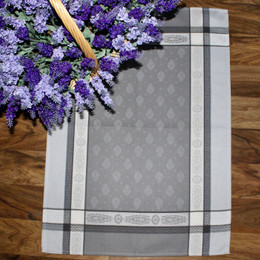 Vaucluse Pearl Jacquard TeaTowel Made in France