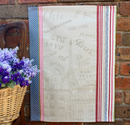 Bonjour Jacquard Tea Towel Made in France