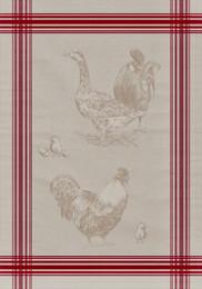 Plumange Jacquard Tea Towel Made in France