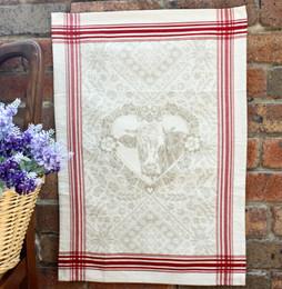 Suzette Jacquard Tea Towel Made in France