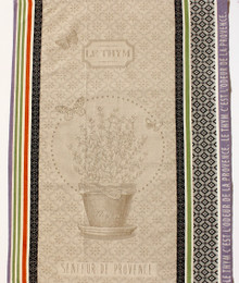Thym Jacquard Tea Towel Made in France