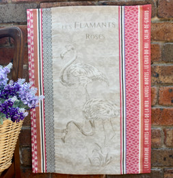 Vaccares Jacquard Tea Towel Made in France