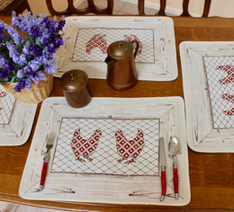 Village Jacquard Tapestry Style Placemat Made in France