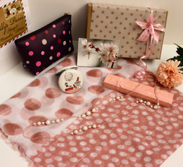 GIFTBOX for Her - Polka Pink 006