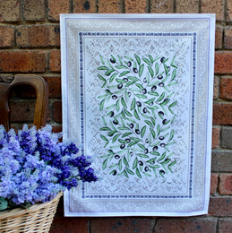 Luberon French Tea Towel Made in France