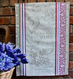 Vignoble Jacquard Tea Towel Made in France