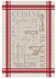 Cuisine Jacquard Tea Towel Made in France