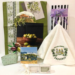 Provence Gift Box - Olive Green  03 Made in France