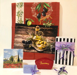 Provence Gift Box - Olive red 04 Made in France