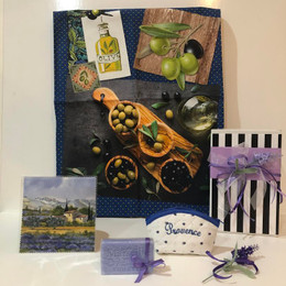 Provence Gift Box - Olive Blue 05 Made in France