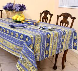 Marat Bastide Blue linear 155x250cm 8Seats Made in France