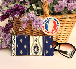 Spectacles Pouch Marat Avignon Blue Made in France
