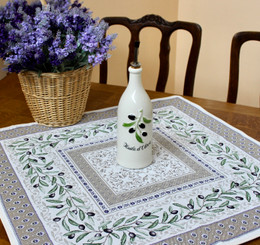 Luberon 72x72cm Table Cover Made in France