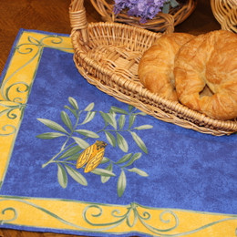 Cicada French Serviette Napkin Made in France