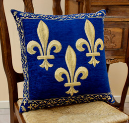 Lys Royal FrenchTapestry Cushion Cover Made in France