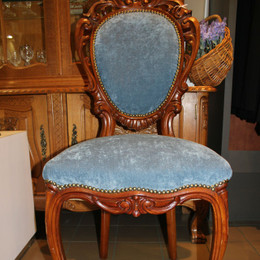 Louis XV set of 4 chairs