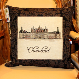 Chambord Tapestry Cushion Cover Made in France
