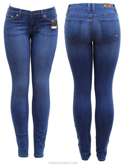 Gorgeous Blue Parkers Stretch Skinny Jeans