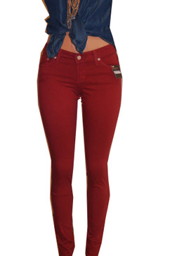 Parkers Marsala Skinny Jeans
