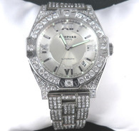 "10 Carat Chopard ""St. Moritz"" Watch, with Diamond Bezel & Bracelet"