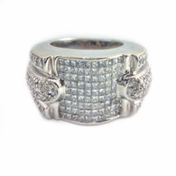 2.5 Carat Diamond Ring in 14kt White Gold
