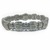 3 3/4 Carat Diamond Bracelet, in 14kt White Gold