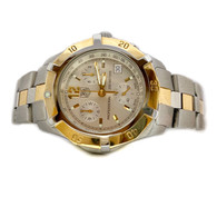 Mens Two-Tone Tag Heuer 2000 Professional Chronograph Watch, with Date Display