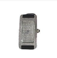 1.10 Carat Diamond Rectangle Face Watch, in 14k White Gold