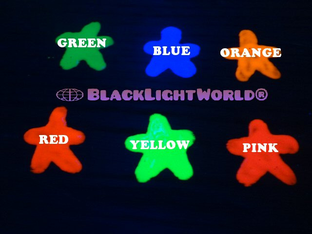 Outstanding Black Light Paint Fluorescent Paint Individual Sizes Home Remodeling Inspirations Genioncuboardxyz