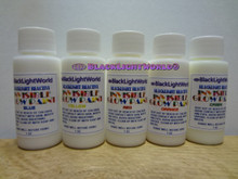 Includes ONE 5 Pack Invisible Black Light Paint 1oz