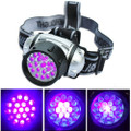 19 LED Uv Black Light Headlamp