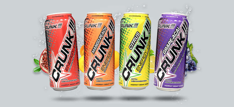 Crunk Energy Drinks