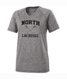 North MS Lacrosse Performance V-neck Tee