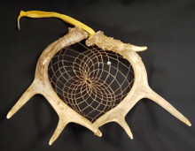 Small Deer Antler Dream Catcher