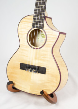 Kala Flame Maple Tenor Cutaway