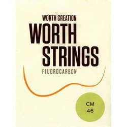 Worth Clear Concert/Soprano High G Fluorocarbon Ukulele Strings