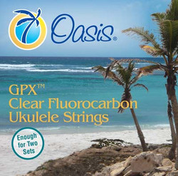 Oasis GPX Clear Bright Low G Fluorocarbon Ukulele Strings