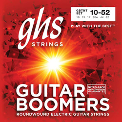 GHS Boomers TNT Thin-Thick 10-52 Electric Guitar Strings