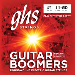 GHS Boomers Medium Gauge  11-50 Electric Guitar Strings