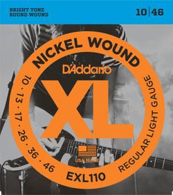 D'Addario EXL110 10-46 Gauge Electric Guitar Strings