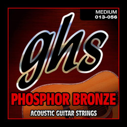 GHS Phosphor Bronze Medium Gauge Acoustic Guitar Strings