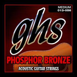 GHS Phosphor Bronze Medium Gauge Acoustic Guitar Strings